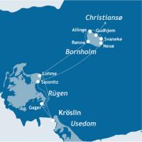 mediamare yachtcharter: Insel Bornholm